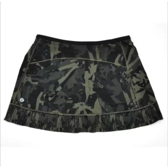 lululemon athletica Dresses & Skirts - 💥Lululemon City Sky Run By Skirt-Camo💥